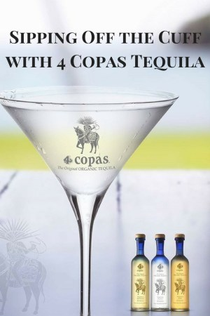Sipping Off the Cuff | 4 Copas Tequila Reposado http://wp.me/p3u1xi-4Vg