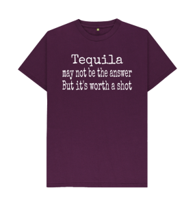 Book Cover: Tequila May Not Be the Answer Tee