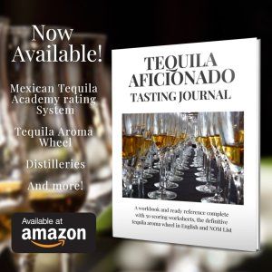 Book Cover: Tequila Aficionado Tasting Journal