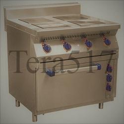 Электроплита 4 конфорки с духовкой ЭПК-47ЖШ Abat