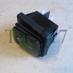Кнопка КПЭМ Абат 3INB4MASK48N1E21 зеленая