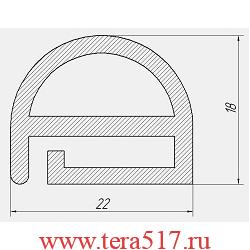 Уплотнитель Абат ПКА6-1/1В ПКА6-1/1П ПКА6-1,5/1П ПКА6-1/,5В 2004-2007