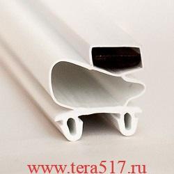 Резина уплотнительная для ШХ (655х1545) черная 2935037d Полаир (Polair)
