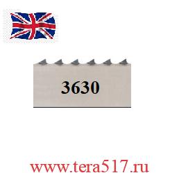 Полотно ленточной пилы ПМ-ФПЛ-460 для мяса 3630х20х4tpi