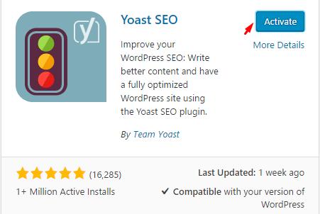 Mengaktifkan Plugin WordPress
