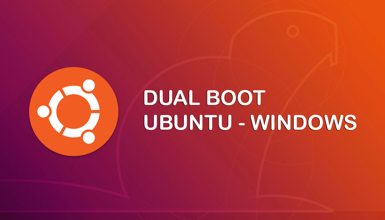 Cara install Windows dan Ubuntu