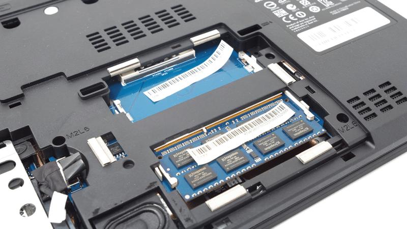 Slot memory laptop