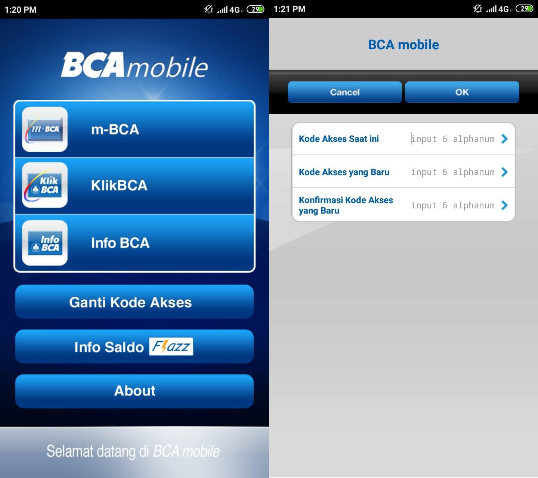 Cara mengatasi lupa password BCA Mobile