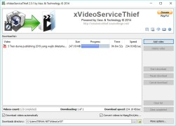 Download video dengan xVideoServiceThief