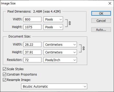 Cara Resize Ukuran Foto Dengan Adobe Photoshop