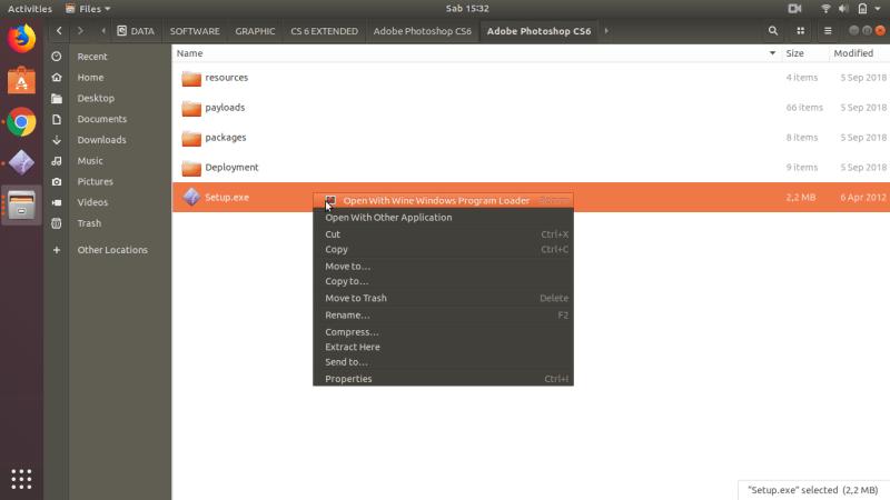 Install Adobe Photoshop dengan Wine Linux