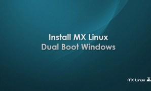 cara install MX Linux