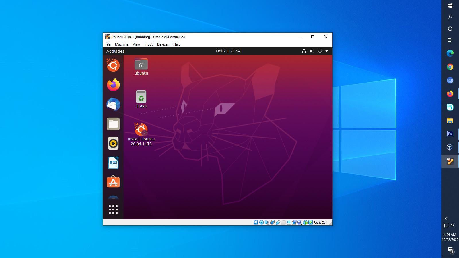 Memperbesar Resolusi Layar Ubuntu di VirtualBox