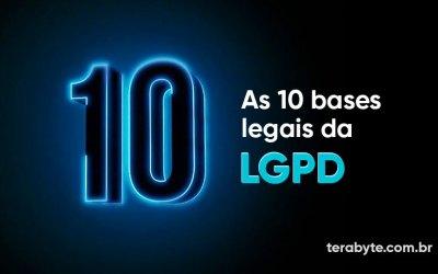 Consentimento é apenas 1 das bases legais da LGPD…
