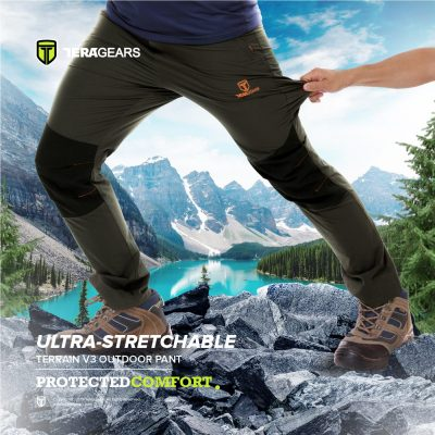 stretchable hiking pant