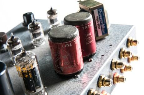 ALTEC 15095 Western Electric 408A 412A Line pre- main amplifier-11