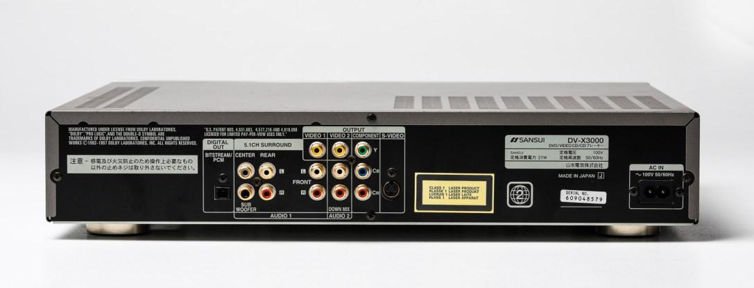SANSUI DV-X3000-1079