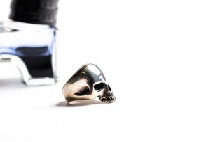 THE GREAT FROG Skull Ring-0494