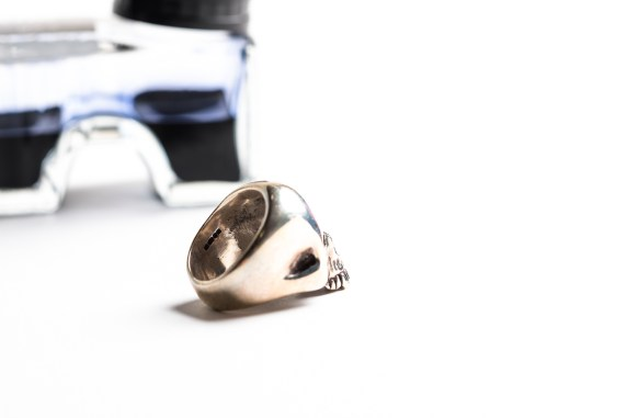 THE GREAT FROG Skull Ring-0496