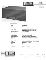 ALTEC 419 8b8