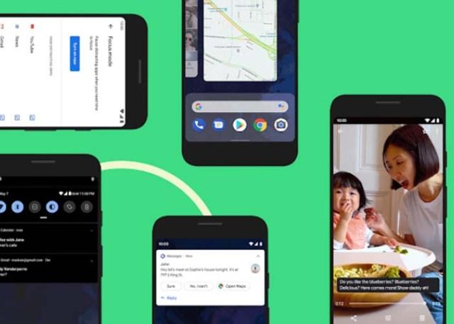 fitur baru di android Q