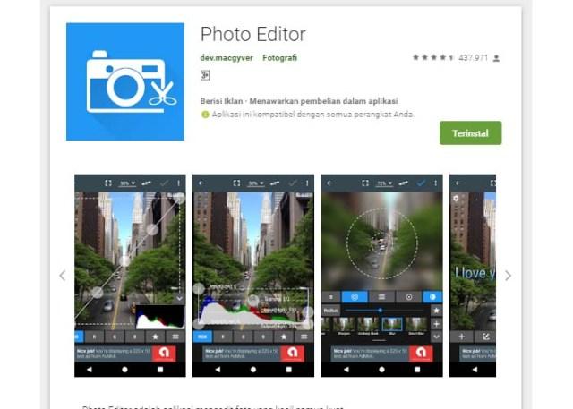 rekomendasi aplikasi edit foto terbaik di android yang wajib kamu miliki!