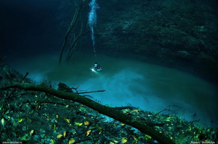 misteri cenote angelita