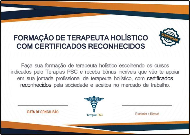 Formação de Terapeuta Holístico Certificado