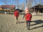 El uso de riendas largas en Terapias con caballos