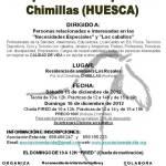 Cartel Jornadas Equitación terapéutica. Chimillas