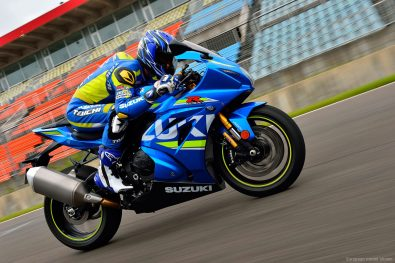 Suzuki GSX-R1000 On Race test