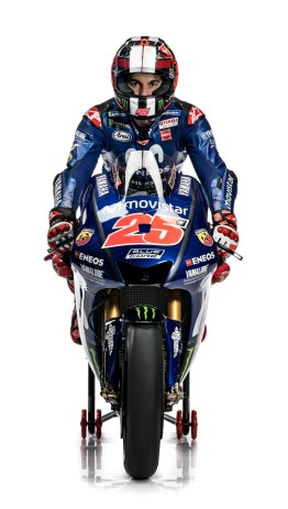 front New Livery Yamaha M1-2018-Vinales-MotoGP