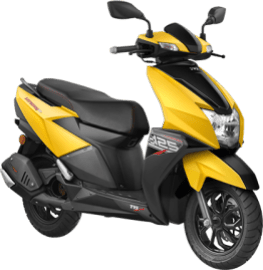 TVC Ntorq 125 2018 Yellow Metallic