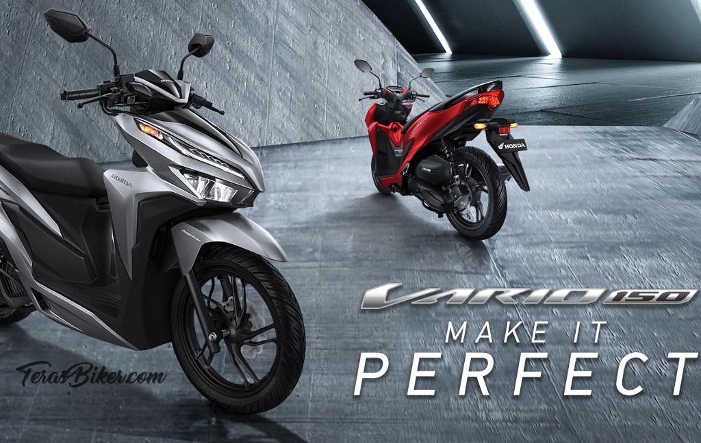 Pilihan Warna Baru All New Honda Vario 150 2018, 4 Pilihan yang Fresh!