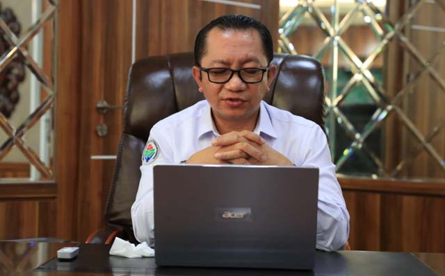 Sekretaris Jenderal Kementerian Desa, Pembangunan Daerah Tertinggal, dan Transmigrasi, Taufik Madjid
