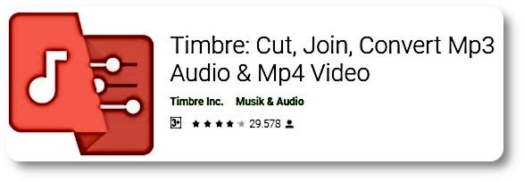 Aplikasi Edit Suara - Timbre