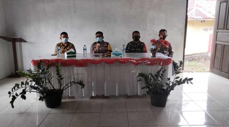 Kapolres Minsel Gelar Pertemuan Dengan Pemerintah Kecamatan dan Desa wilayah Tompasobaru – Maesaan