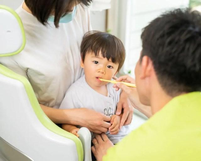小児の虫歯治療