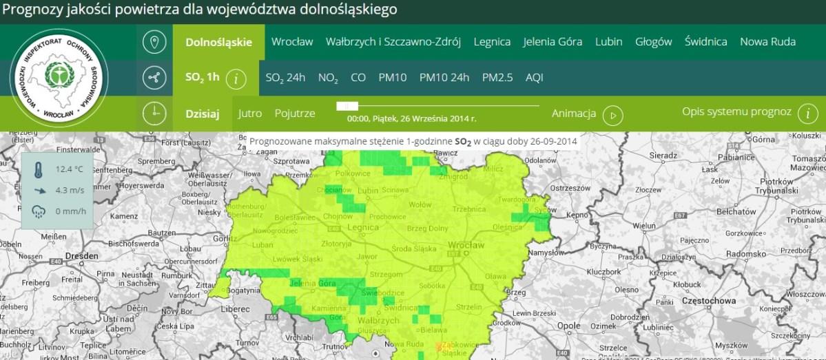 Sprawdź jakość powietrza w regionie