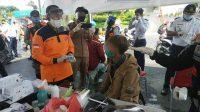 ODP dari Jember Akan ke Sampang Ditemukan di Bundaran Waru Surabaya