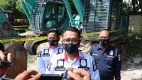 Ungkap Kasus PETI, Ditreskrimsus Polda Kalteng Amankan Tiga Pelaku, Dua Excavator dan Satu Senpi Rakitan