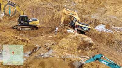 Pekerja PETI Ilegal di Murung Raya, Diduga Ada 9 Warga WNA Warga Tiongkok Ikut Bekerja