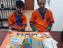 Dua Budak Narkotika Jenis Sabu Ditangkap Polres Barut, Satu Diantaranya ASN