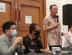 Anggota DPR RI Bambang Patijaya Gelar Buka Puasa Bersama Awak Media