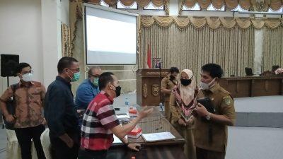 RDP Sia-Sia, Manajemen PT. BEK Tolak Tandatangan Kesimpulan RDP di DPRD Barut