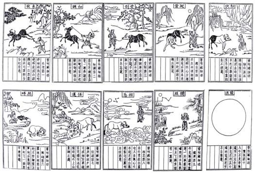P'u Ming's woodcuts