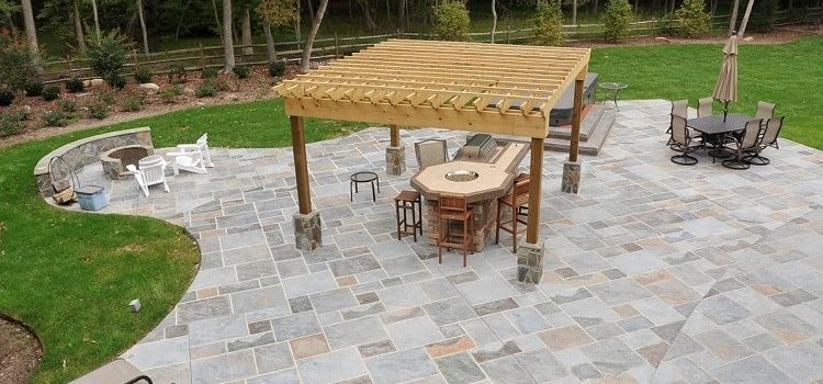 to maintain stamped concrete patio