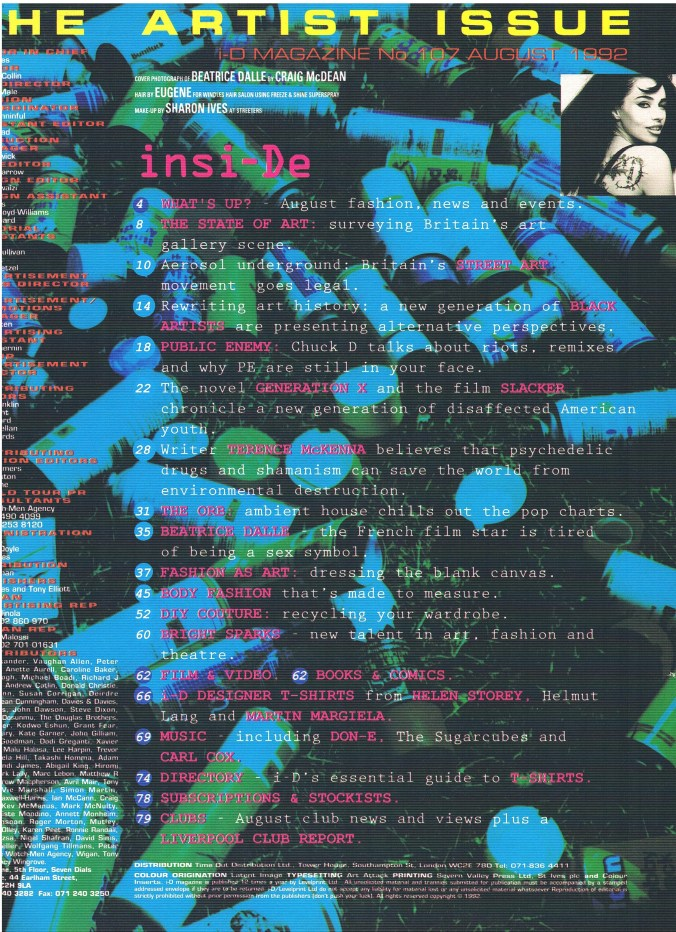 i-D No 107 August 1992 002