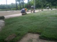 formowanie trawnika 2