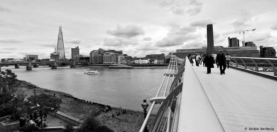 Millennium bridge and TATE museum